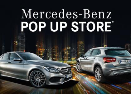 Merdeces Benz Pop-up Store